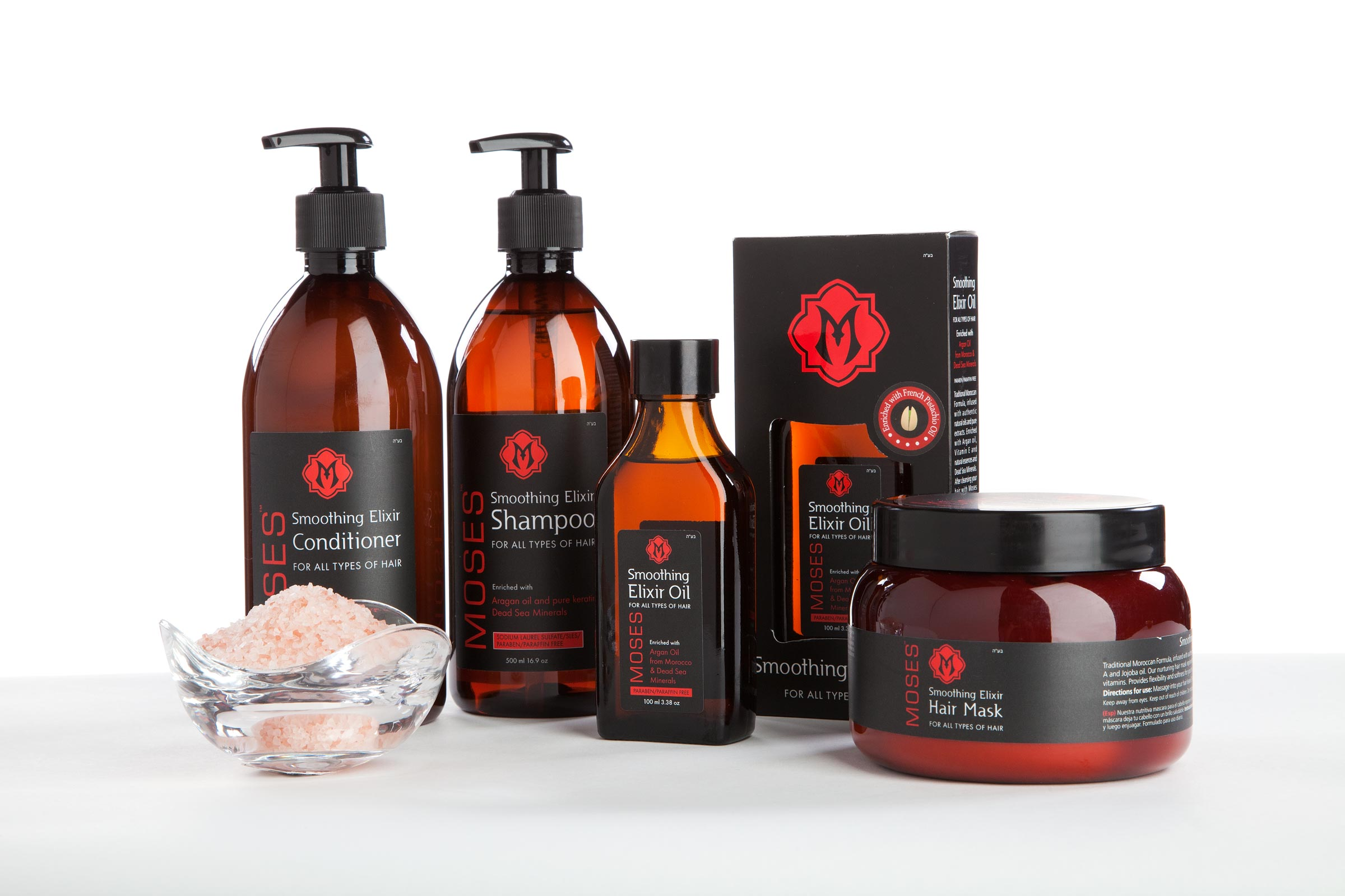'Smoothing Elixir Haircare System' Product Photos