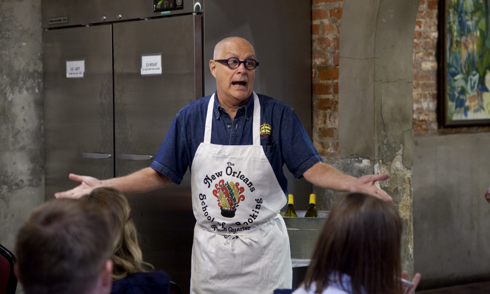 New Orleans cooking school gives taste of culture
