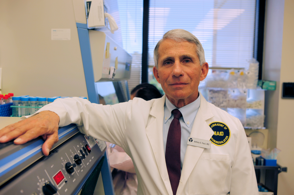 NIAID's Dr. Anthony Fauci